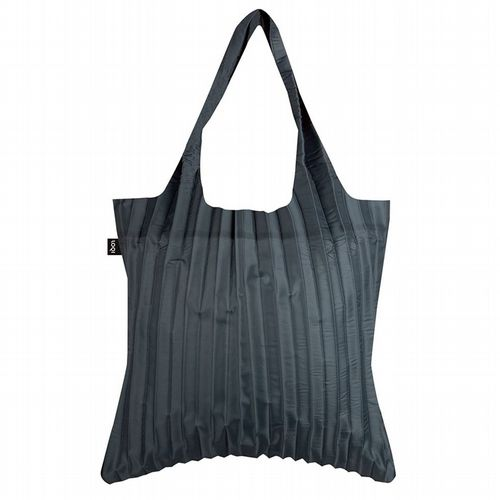 Pleated Shopper - Charcoal